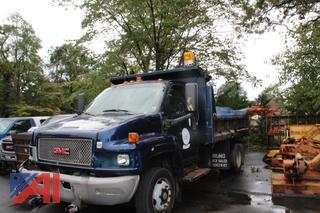 2004 GMC 550 Dump Truck