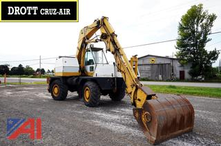1973 Drott Cruz-Air 40-#BYR Wheel Excavator