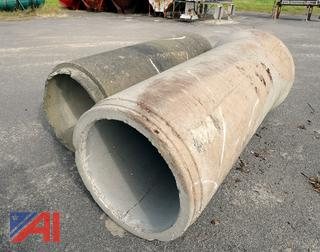 "30"" Diameter Concrete Pipe Sections"