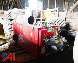 Clean Burn CB-1750 Multi-Oil Furnace & Tank