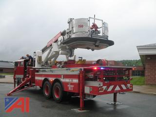 1986 Mack CF600 75' Tower Ladder Truck