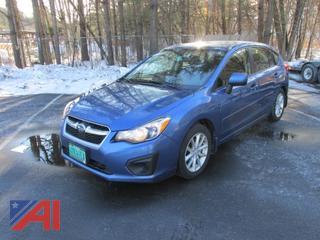2014 Subaru Impreza Premium 4 Door Hatchback