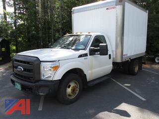 2011 Ford F350 XL Super Duty Box Truck