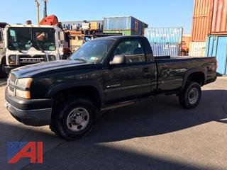 2004 Chevy Silverado 2500HD Pickup Truck
