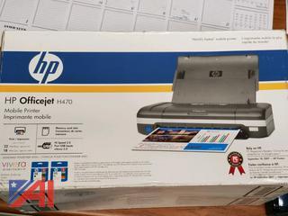HP Officejet H470 Mobile Printer