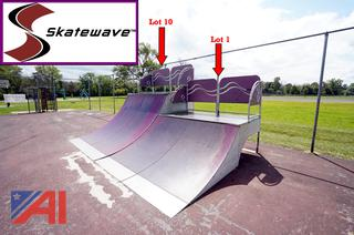 Skate Wave 1 Section 3' X 8' Quarter Pipe