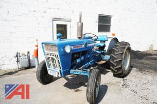 1969 Ford 3000 Utility Tractor