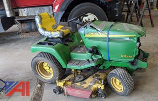 John Deere GX345 Riding Lawn Mower