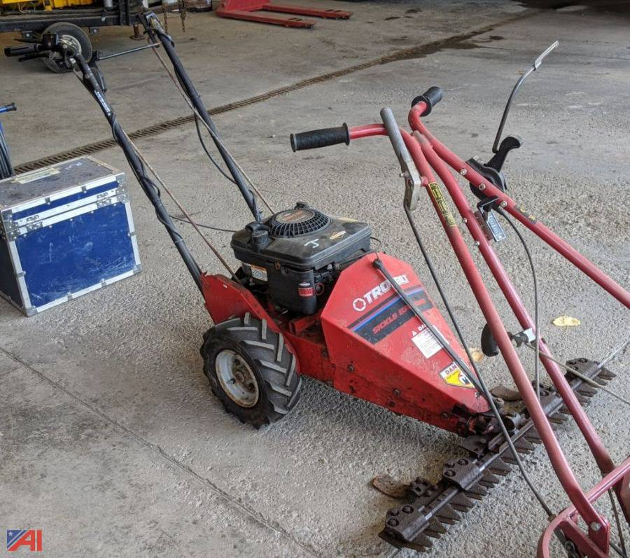 Auctions International Auction Village Of Waterloo Ny 22479 Item Troy Bilt Sickle Bar Mower