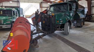 2008 Freightliner Business Class M2 Dump Truck & Plows