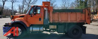 2006 International SA525 Dump Truck with Plow
