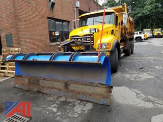 2004 Mack CV713 Dump Truck with Plow