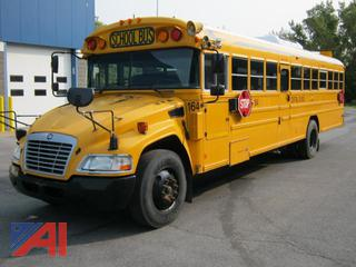 2013 Bluebird Vision School Bus with Wheelchair Lift