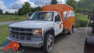 2000 Chevy 3500 Pickup Truck with Utility Body
