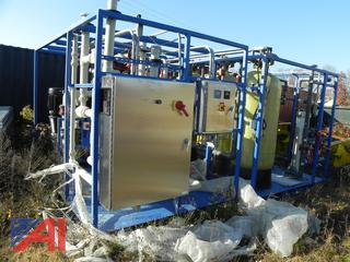 (#2) 2014 Tranter Superchanger Purified Water Treatment System