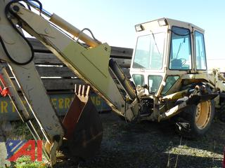 (#38) 1985-88 ? Ford 655A LF1111 Backhoe with Extend-A-Hoe