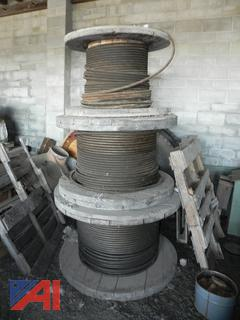 (#14)  Wire Rope on Spools