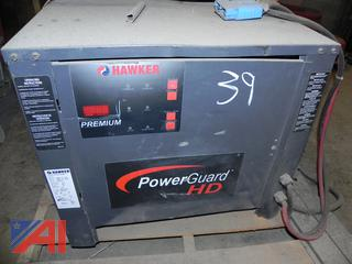 (#39) Hawker 48v PowerGuard HD Forklift Battery Charger