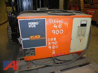 (#41) Ferro 48v Five Forklift Battery Charger