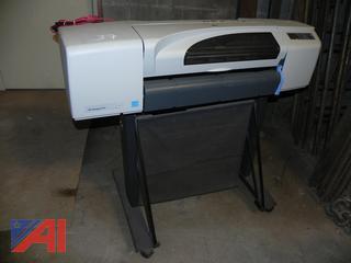 (#37) HP DesignJet 510 Studio Large Format Plotter Printer