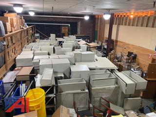 Large Selection of Gently Used Office CubicleFurniture