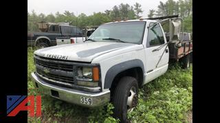 2000 Chevy C/K 3500 Flatbed Truck