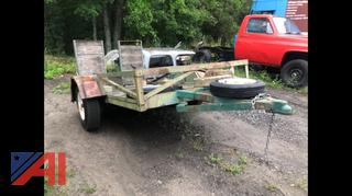 1980 Homemade 10' Trailer with Ramps