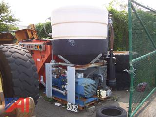 Brine Tank with Pump