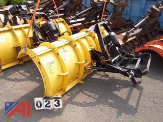 Fisher 8' HD Minute Mount Plow