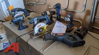 Various Ryobi Power Tools