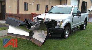 REDUCED BP 2019 Ford F350 XL Super Duty Pickup with V-Plow