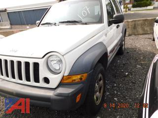 (#107) 2007 Jeep Liberty Sport SUV