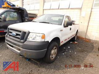 (#607) 2008 Ford F150 Pickup Truck