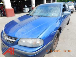 (#5175) 2005 Chevy Impala 4 Door Sedan