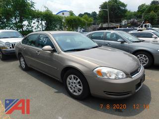 (#5193) 2007 Chevy Impala 4 Door Sedan