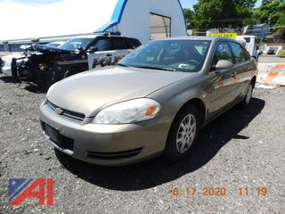(#5527) 2006 Chevy Impala 4 Door Sedan