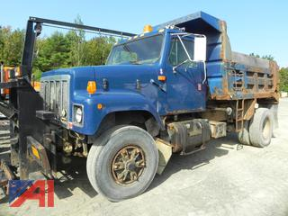 1992 International 2574 Dump Truck with Plow