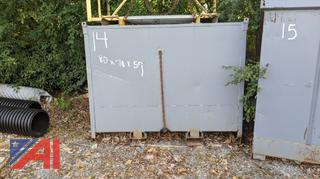 Steel Recycling Bin, #14
