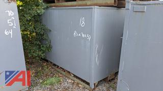 Steel Recycling Bin, #18