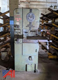 *Lot Updated* DoAll Vertical Band Saw