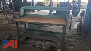 5' Metal Work Table