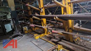 Metal Materials Rack