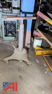 Pedestal Metal Stock Base