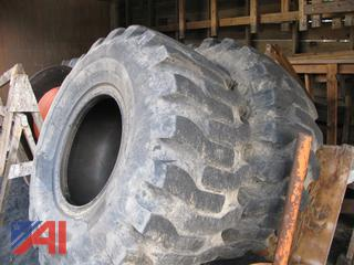 (#5) Various Sizes of Loader Tires