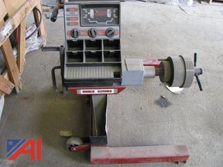 (#6) Coates 6200HS Wheel Balancer