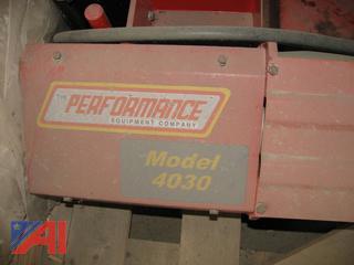 (#8) Performance Equipment Truck Tire 4030 Machine