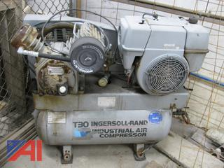 (#9) T30 Portable Ingersoll Rand Gas Powered Air Compressor