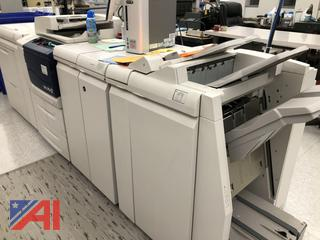 Black and White Xerox D110 Production Copier