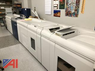 Black and White Xerox Nuvera 144 EA High Speed Production System