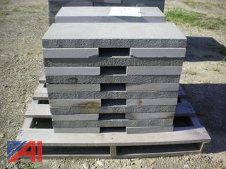 """2"""" x 12"""" x 30"""" and 2"""" x 12"""" x 18"""" Stone"""